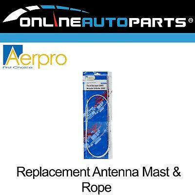 Replacement Aerial Mast & Rope Ford Escape Mazda Tribute Auto Electric Antenna