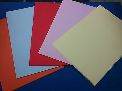 A4 Multi Coloured Card 160 gsm Pack of 50 Sheets