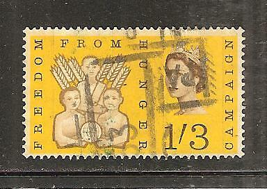 GREAT BRITAIN # 391p  ( Phospher ) Used FREDOM FROM HUNGER CAMPAIGN. (1)