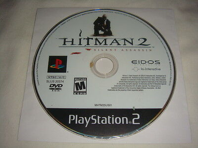 Hitman 2: Silent Assassin - PS2 Sony PlayStation 2 game Disc Only Hit Man II BL