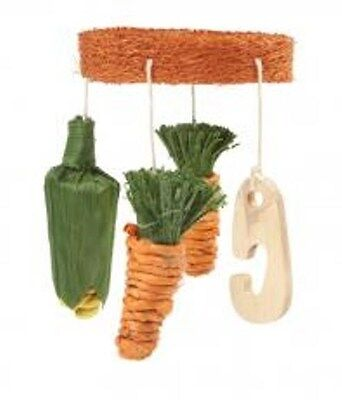 Ancol Vegie Mobile For Rabbit, Guinea Pig 100% Natural And Edible