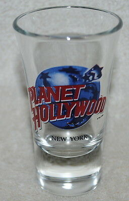 Planet Hollywood, New York, shot glass