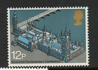 GB 1975 62nd inter-Parliamentary Union Conference unmounted mint stamp