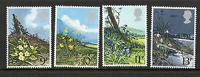 GB 1979 Spring Wild Flowers unmounted mint set stamps