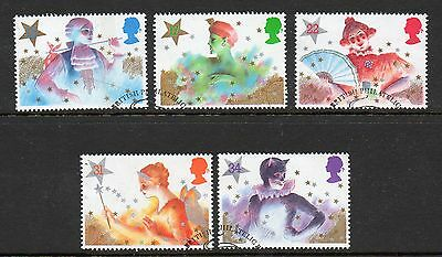 GB 1985 Christmas fine used set stamps