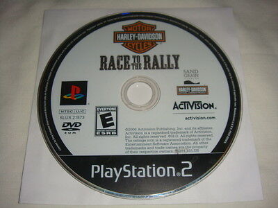 Harley-Davidson : Race to the Rally - PS2 Sony Playstation 2 game Disc Only E