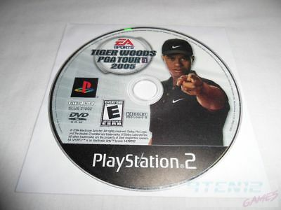 Tiger Woods PGA Tour 2005 - PS2 PlayStation 2 game Disc Only Sports Golfing Golf