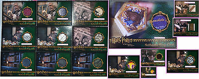 Wand Box Wizard Candy Fluffy's Fur Library Book Card Prop Harry Potter PS SS