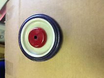 "4 Shopping Cart Wheels 5"" New For One Price"
