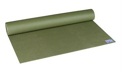 JADEYOGA Jade Yoga Harmony Professional Mat OLIVE GREEN Eco Natural Rubber