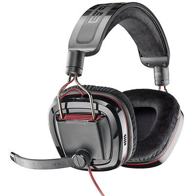 Genuine New Plantronics Gamecom 780 Pc Gaming Headset With 7.1 Surround Sound Pc