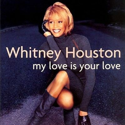 My Love Is Your Love by Whitney Houston (CD, Jan-1998, 2 Discs, Arista)