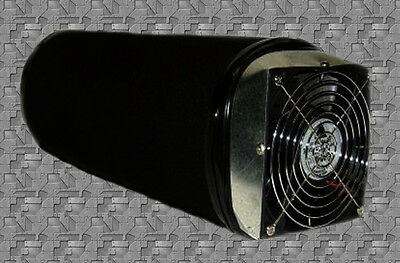 "6"" X 14"" Carbon Air Filter Now With 148 Cfm Fan Removes Odors  * Refillable *"