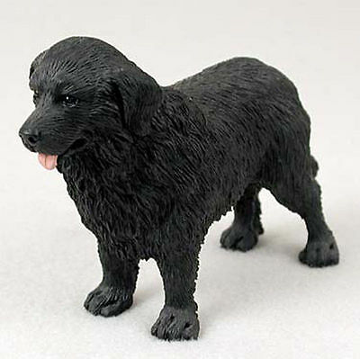 Newfoundland Figurine Hand Painted Collectible Statue