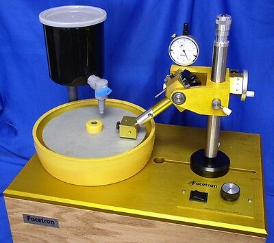 "rle FACETRON 8"" Faceting Machine, THE BEST! MADE IN USA!"