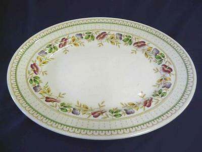 """WOODS CHINA BRIER PATTERN 14"""" OVAL PLATTER"""