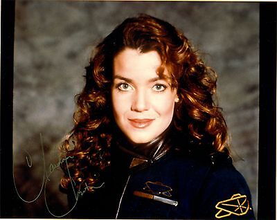 Claudia Christian as Susan Ivanova of Babylon 5  8 x 10 Autograph Reprint