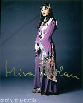 Mira Furlan as Delenn in Babylon 5  8 x 10 Autograph Reprint