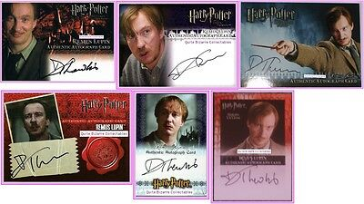Remus Lupin Auto Card David Thewlis PoA DH 3D OP OotP Harry Potter New Autograph