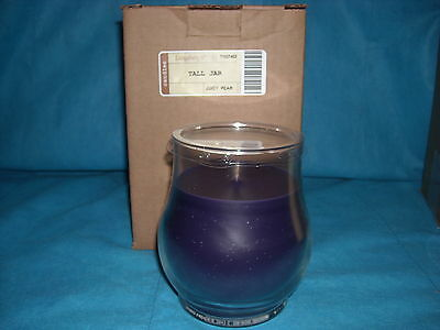 VERY BERRY 14oz Tall Jar CANDLE Longaberger USA NEW