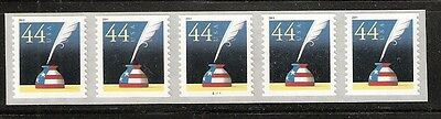 2011 #4496 Patriotic Quill & Inkwell PNC5 #S11111 MNH