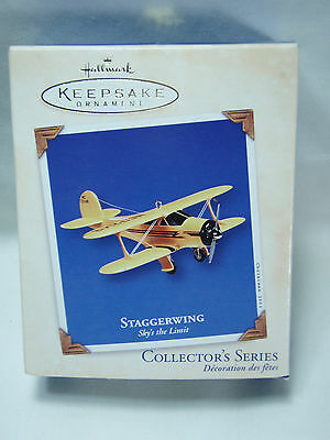 2002 Hallmark Keepsake Ornament Staggerwing Sky's the Limit #6