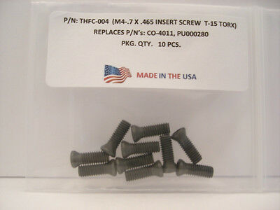 10 Pieces THFC-004 Insert Screw: CO-4011 .. PU000280 .. TS-4.7-10M1 .. 056-1834