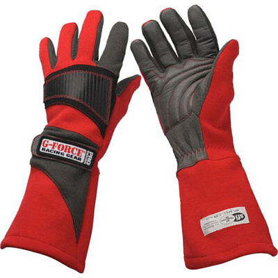 G-FORCE 4105LRGRD Pro Racing Gloves Large