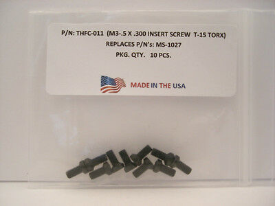 10 Pieces THFC-011 Insert Screw: MS-1027