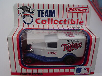 MATCHBOX 1990  MINNESOTA TWINS 1931 FORD Delivery Van  NEW in Box!