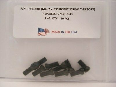 10 Pieces THFC-030 Insert Screw: TS-43, TPS43