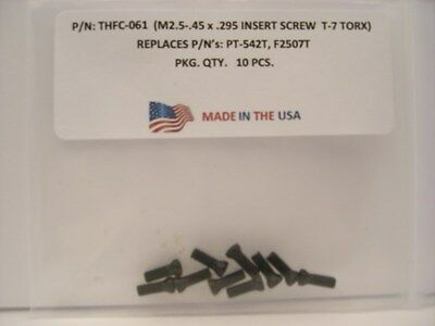 10 Pieces THFC-061 Insert Screw: PT-542T