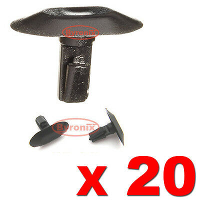 Peugeot 406 307 206 Rubber Weatherstrip Moulding Door & Boot Seal Clips