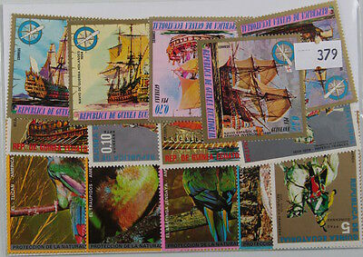 20 Equatorial Guinea stamps in packet.  (379)