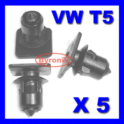 Vw T5 Transporter Roof Trim Strip Panel Lining Clips Interior