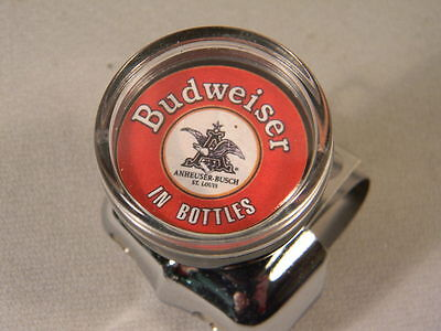 BUDWEISER  SUICIDE BRODIE STEERING WHEEL SPINNER  KNOB FOR YOUR CLASSIC