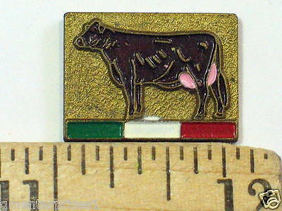Cattle Brown Swiss Cow Pin