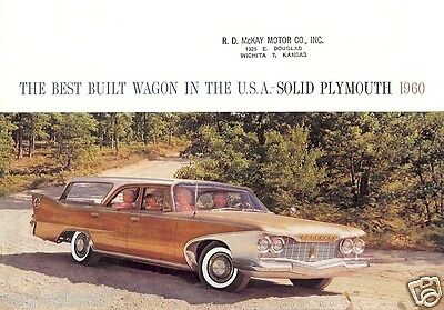 Auto Brochure - Plymouth - Suburban -  Station Wagon - 1960 (AB84)