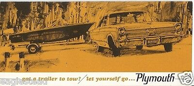 Auto Brochure - Plymouth - Got a Trailer to Tow? - 1966 (AB88)