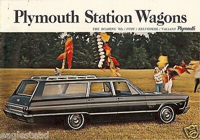 Auto Brochure - Plymouth - Station Wagons Fury Belvedere Valiant - 1965 (AB89)