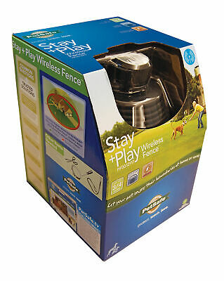 PetSafe Stay + Play Rechargeable Wireless Dog Fence 3/4 Acre PIF00-12917