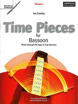 Time Pieces For Bassoon Volume 1, Sheet Music, English - 9781860962967