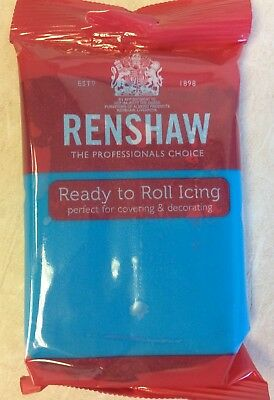 Renshaw Decorice TURQUOISE  Regalice/Sugarpaste/roll out icing - 250g pack