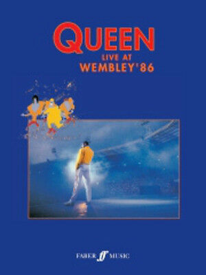 Queen: Live At Wembley '86 Piano, Vocal & Guitar (with Chord Boxes) Sheet Music