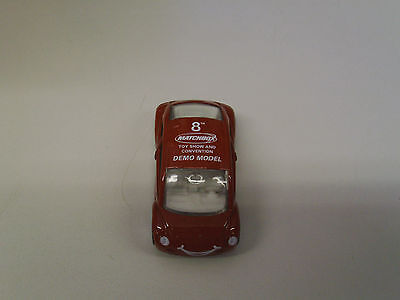 Matchbox 1997 VW Concept 1 in red  8th Toy Show Convention Demo model