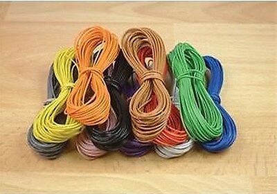 Expo 10m Roll of 18 Strand 0.1mm cable -  9 Colour  Variations Available