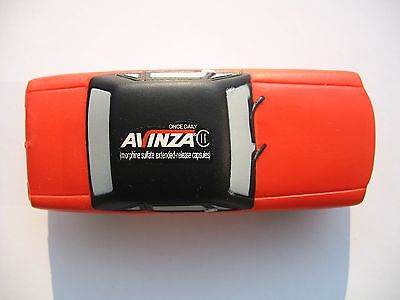 1 Drug Rep Stress Toy AVINZA  ( Rare 65 Red Mustang  ) New  Awesome Item