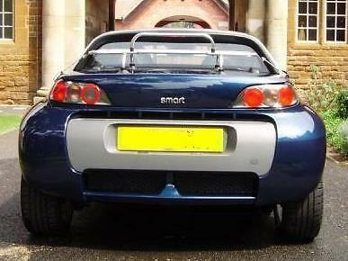 Boot luggage rack / carrier, Smart Roadster 2003-07, aluminium