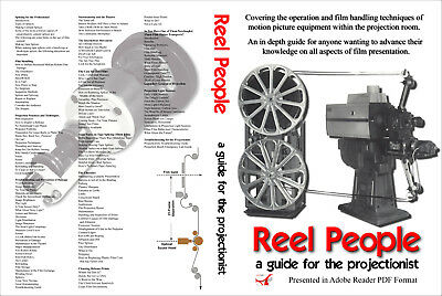 35mm CINE PROJECTIONIST GUIDE on CD EXCELLENT INFO! (Handling, Splicing ETC)