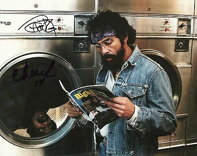 CHEECH AND CHONG SIGNED AUTOGRAPHED 8x10 PHOTO UP IN SMOKE NICE DREAMS a
